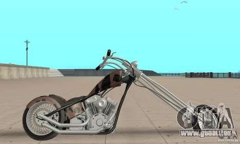 Desperado Chopper pour GTA San Andreas sur la vue arrière gauche