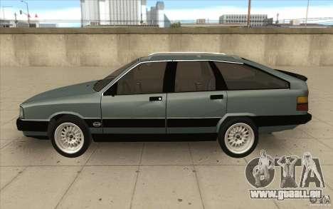 Audi 100 Avant Quattro für GTA San Andreas linke Ansicht