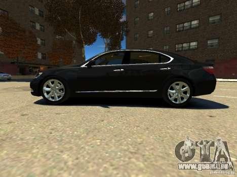 Lexus LS600 V2.0 für GTA 4 linke Ansicht