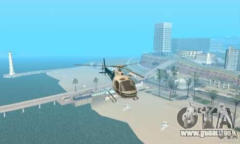 AS350 Ecureuil pour GTA San Andreas vue intérieure