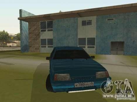 VAZ 21093 Tuning für GTA San Andreas Rückansicht