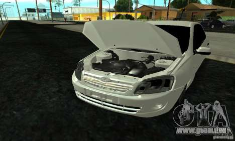Lada 2190 Granta für GTA San Andreas Seitenansicht