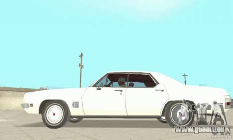Pontiac LeMans 1971 pour GTA San Andreas sur la vue arrière gauche