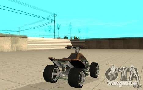 Powerquad_by-Woofi-MF peau 3 pour GTA San Andreas sur la vue arrière gauche