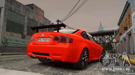 BMW M3 GTS Final pour GTA 4 est une gauche