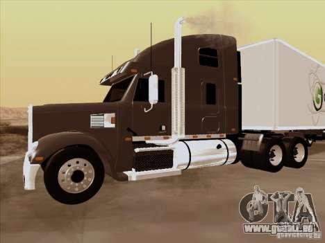 Freightliner Coronado für GTA San Andreas linke Ansicht