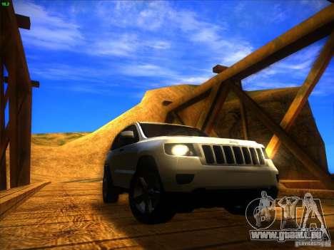 Jeep Grand Cherokee 2012 v2.0 für GTA San Andreas rechten Ansicht