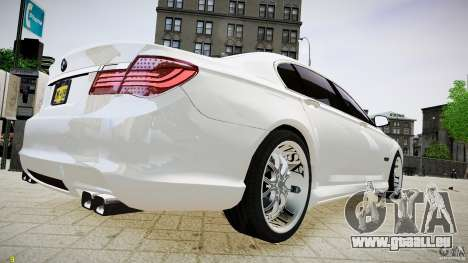 BMW 750Li Sedan ASANTI für GTA 4 linke Ansicht