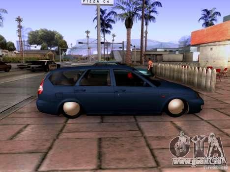 Lada Priora Limousine für GTA San Andreas linke Ansicht