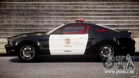Ford Mustang V6 2010 Police v1.0 für GTA 4 linke Ansicht