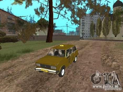 VAZ 2104 Taxi pour GTA San Andreas vue intérieure