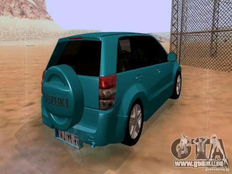 Suzuki Grand Vitara für GTA San Andreas zurück linke Ansicht