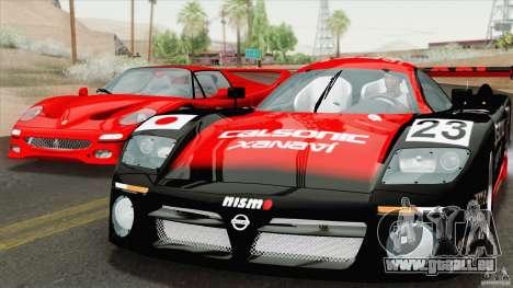 Nissan R390 GT1 1998 v1.0.1 für GTA San Andreas