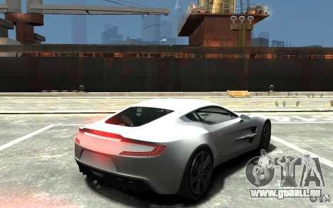 Aston Martin One 77 pour GTA 4 est un droit