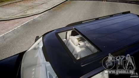 Chevrolet Suburban Z-71 2003 pour GTA 4 vue de dessus