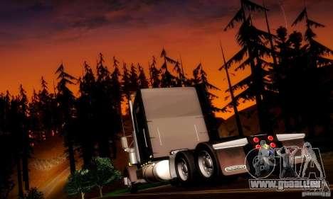 Freightliner Classic XL für GTA San Andreas zurück linke Ansicht