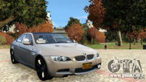 BMW M3 E92 2008 v1.0 pour GTA 4