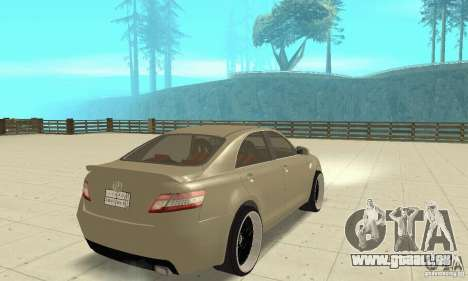 Toyota Camry Tuning 2010 pour GTA San Andreas laissé vue
