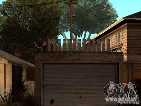 Le New Grove Street pour GTA San Andreas quatrième écran