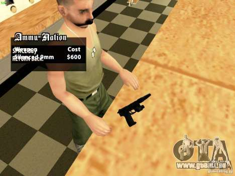 USP45 Tactical pour GTA San Andreas
