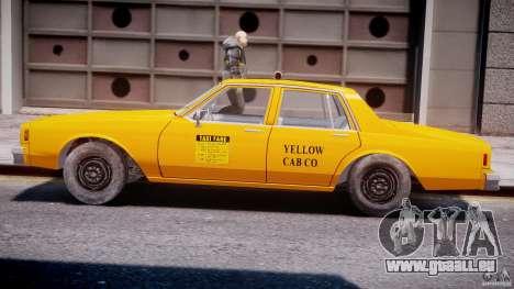 Chevrolet Impala Taxi 1983 [Final] für GTA 4 obere Ansicht