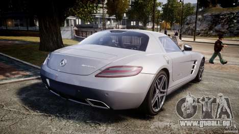 Mercedes-Benz SLS AMG 2010 [EPM] für GTA 4 obere Ansicht