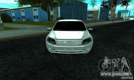 Lada 2190 Granta pour GTA San Andreas vue intérieure