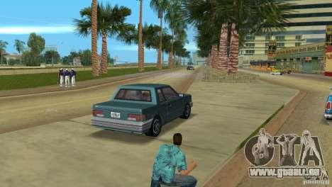 Manana HD pour GTA Vice City sur la vue arrière gauche