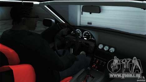 Nissan 240SX S13 Drift Alliance für GTA San Andreas Rückansicht