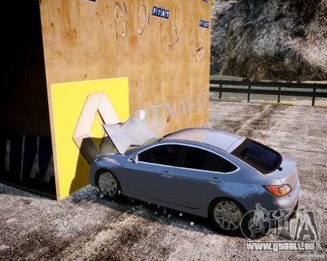 LC Crash Test Center für GTA 4 achten Screenshot
