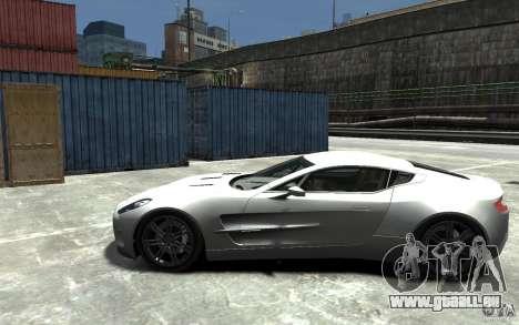 Aston Martin One 77 für GTA 4 linke Ansicht