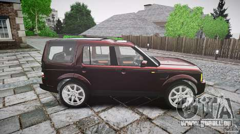 Land Rover Discovery 4 2011 pour GTA 4 est une vue de l'intérieur