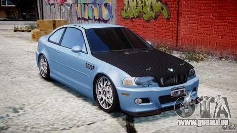BMW M3 E46 Tuning 2001 für GTA 4 Innenansicht