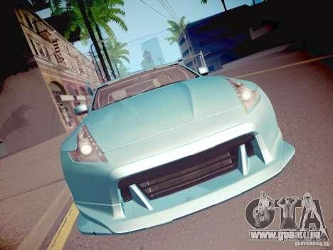 Nissan 370Z Fatlace für GTA San Andreas