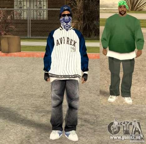 Compton Crips für GTA San Andreas