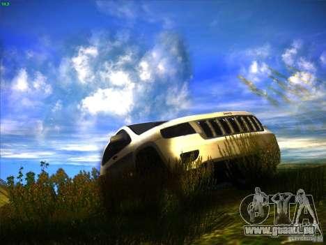 Jeep Grand Cherokee 2012 v2.0 pour GTA San Andreas