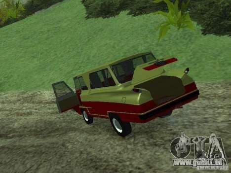 Véhicule Start v1.1 pour GTA San Andreas vue arrière