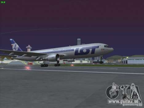 Boeing 767-300 LOT Polish Airlines pour GTA San Andreas