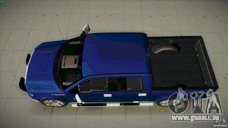 Ford Lobo Lariat Ecoboost 2013 pour GTA San Andreas vue de droite