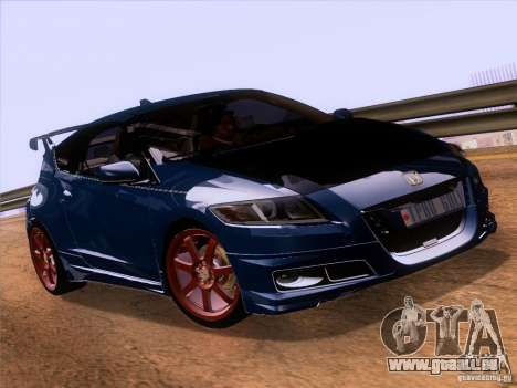 Honda CR-Z Mugen 2011 V2.0 pour GTA San Andreas vue de droite