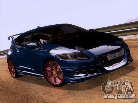 Honda CR-Z Mugen 2011 V2.0 für GTA San Andreas rechten Ansicht