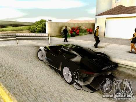 Citroen GT Gymkhana für GTA San Andreas linke Ansicht