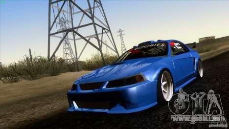 Ford Mustang GT 1999 für GTA San Andreas linke Ansicht