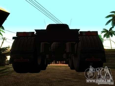 MAZ 642205 v1.0 pour GTA San Andreas sur la vue arrière gauche