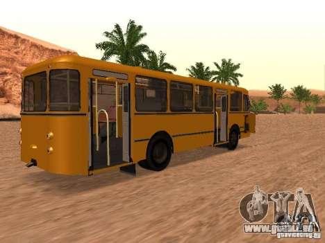 Nouveaux scripts pour les autobus. 2.0 pour GTA San Andreas cinquième écran