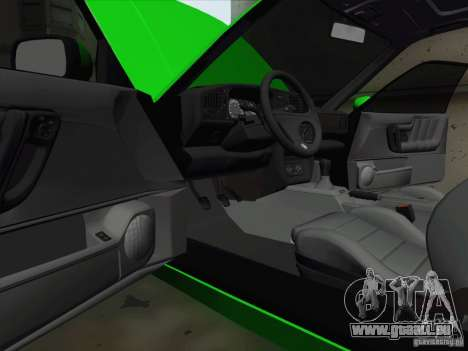Volkswagen Corrado 1995 pour GTA San Andreas vue de dessus