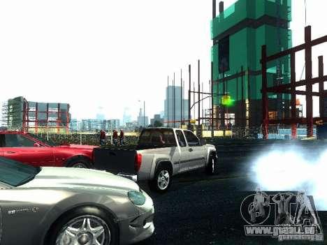 Chevrolet Colorado 2003 pour GTA San Andreas vue arrière