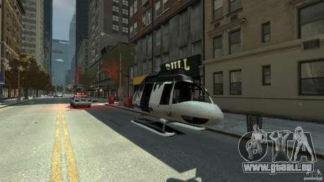 All new Tourmav für GTA 4 Seitenansicht
