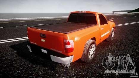 Chevrolet Silverado 2011 pour GTA 4 vue de dessus