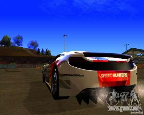 McLaren MP4 - SpeedHunters Edition für GTA San Andreas zurück linke Ansicht